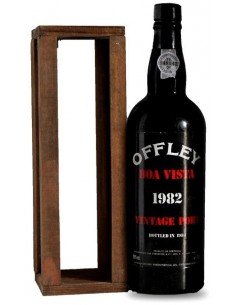 Offley Boa Vista 1982 Vintage Port Bottled in 1984 - Port Wine