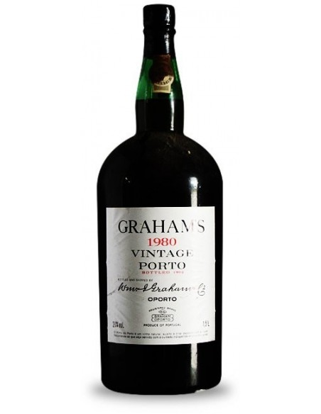 Graham`s 1980 Vintage Porto - Port Wine