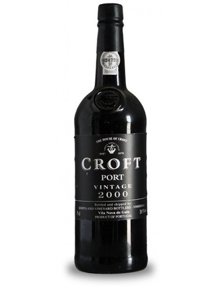 Croft Vintage Port 2000 - Port Wine