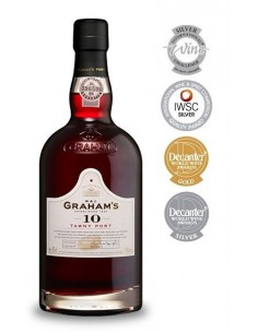 Graham's 10 years old Tawny Port - Vin Porto