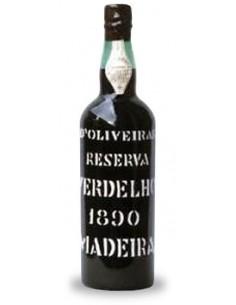 D`Oliveiras Verdelho 1890 - Vin de Madère