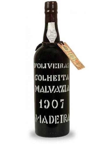 D`Oliveiras Malvasia 1907  - Vinho da Madeira