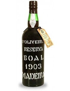 D`Oliveiras Boal 1903 - Vino Madera