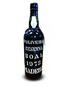 D`Oliveiras Boal 1978 - Vinho da Madeira