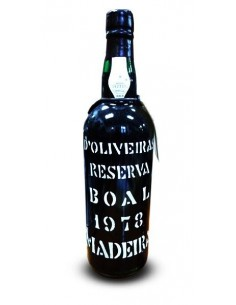 D`Oliveiras Boal 1978 - Vino Madera
