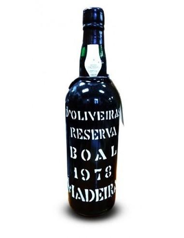 D`Oliveiras Boal 1978 - Madeira Wine
