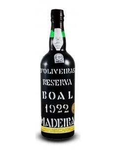 D`Oliveiras Boal 1922 - Vino Madera