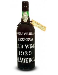 D`Oliveiras Old Wine 1929 - Madeira Wine