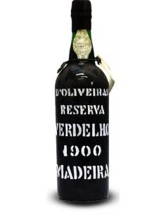 D`Oliveiras Verdelho 1900 - Vino Madera