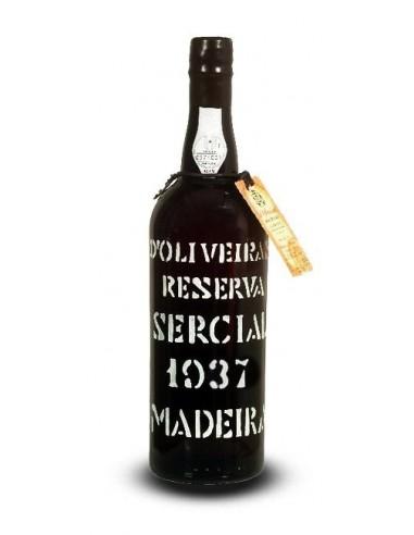 D`Oliveiras Sercial 1937 - Vinho da Madeira