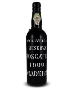 D`Oliveiras Moscatel 1900 - Madeira Wine