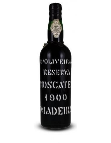 D`Oliveiras Moscatel 1900 - Madeira Wine