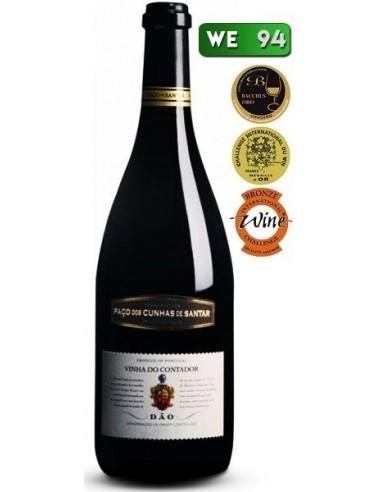 Paço dos Cunha Vinha do Contador Tinto 2011 - Vinho Tinto