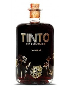 Tinto Red Premium Gin - Gin Portugaise