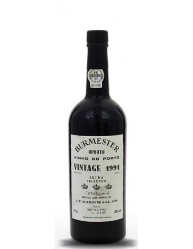 Burmester Vintage 1991 - Port Wine