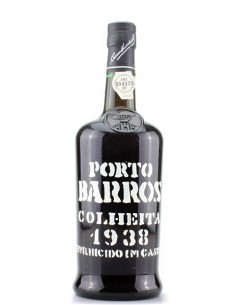 Porto Barros Colheita 1938 bottled in 1998 - Port Wine