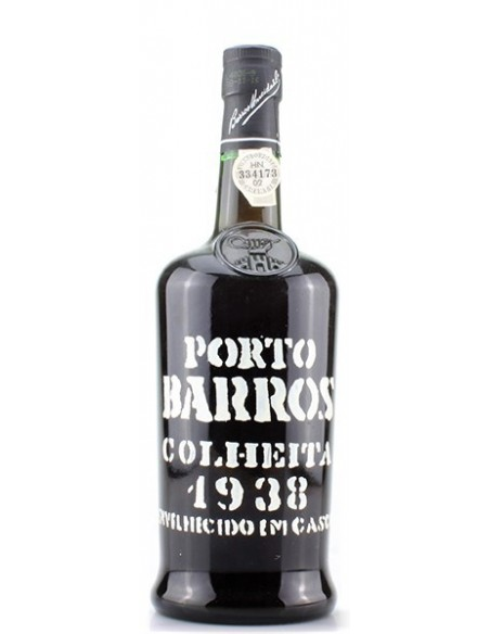 Porto Barros Colheita 1938 mis en bouteille 1998 - Vin Porto