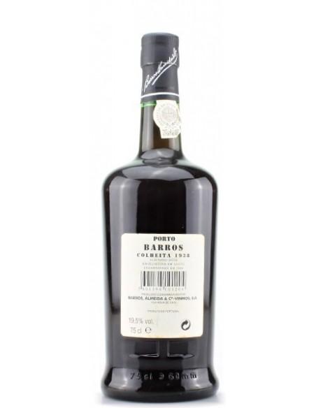 Porto Barros Colheita 1938 bottled in 1998 - Port Wine
