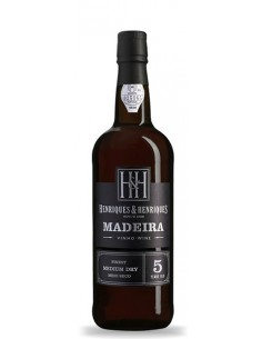 Medium Dry 5 Years Madeira Wine Henriques and Henriques - Vino Madera