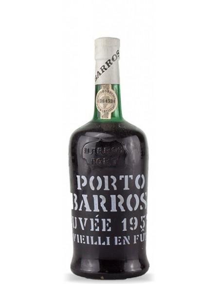 Porto Barros Cuvée 1952 engarrafado em 1974 - Vinho do Porto