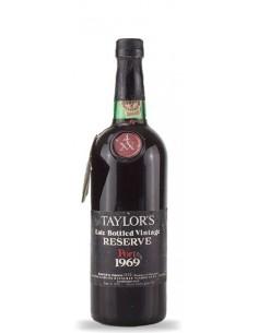 Taylor's LBV 1969 engarrafado em 1975 - Vinho do Porto