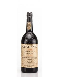 Graham's Vintage 1975 engarrafado em 1977 - Vinho do Porto