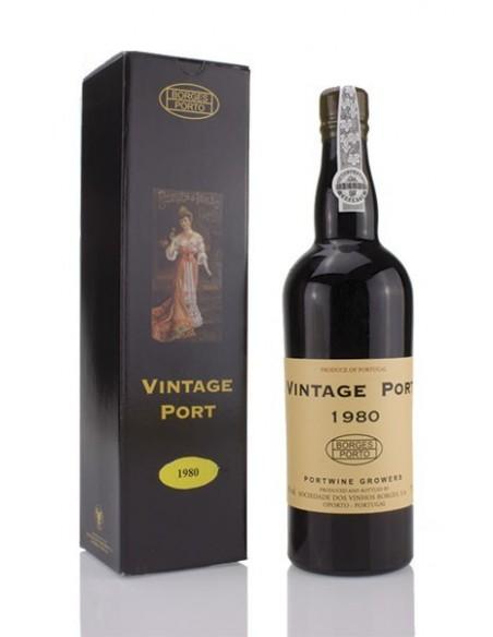 Borges Vintage Port 1980 - Vinho do Porto