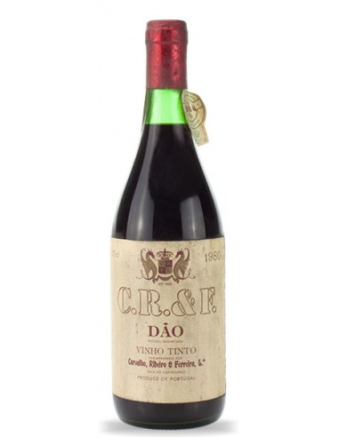 C.R&F. Dão 1980 - Red Wine