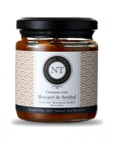 Carrot with Setúbal Muscat Marmalade 250gr Nobre Terra - 100% Natural Fine Marmalade
