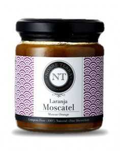 Muscat Orange Marmalade 250gr Nobre Terra - 100% Natural Fine Marmalade