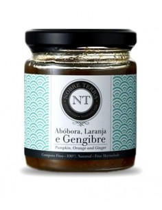 Pumpkin, Orange and Ginger Marmalade 250gr Nobre Terra - 100% Natural Fine Marmalade