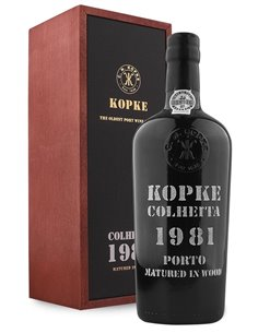 Kopke Colheita 1981 Matured in Wood - Vinho do Porto