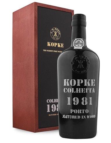 Kopke Colheita 1981 Matured in Wood - Vino Oporto