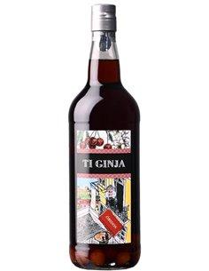 Ginja d´Óbidos TI GINJA 1L - Ginja /  Licor de Cereza