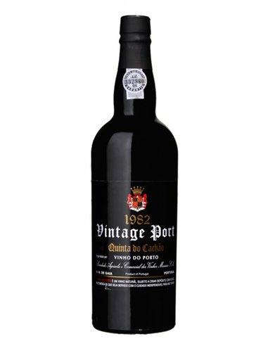 Quinta do Cachão Vintage 1982  - Port Wine