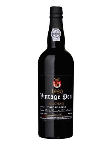 Quinta do Cachão Vintage 1980 - Vinho do Porto