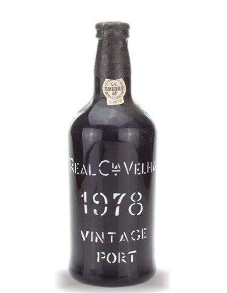 Real Companhia Velha 1978 Vintage Port - Port Wine