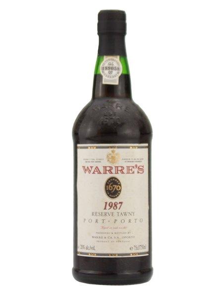 Warre's Reserve Tawny 1987 - Port Wine