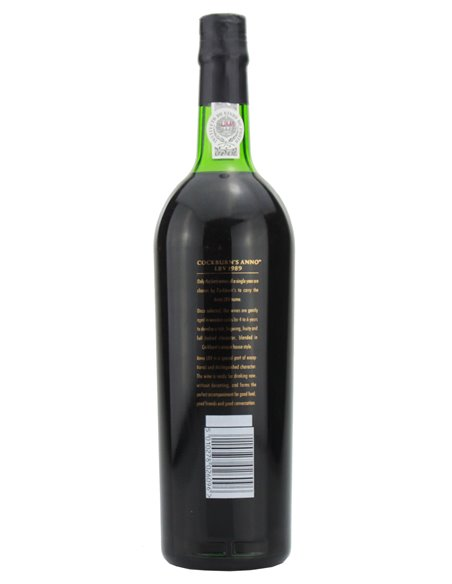Cockburn's Anno LBV 1989 - Port Wine
