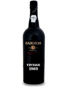 Porto Barros Vintage 1989 - Vinho do Porto