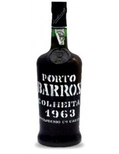 Porto Barros Colheita 1963 Matured in Wood - Port Wine
