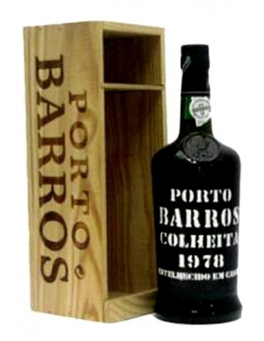 Porto Barros Colheita 1978 Matured in Wood - Vin Porto
